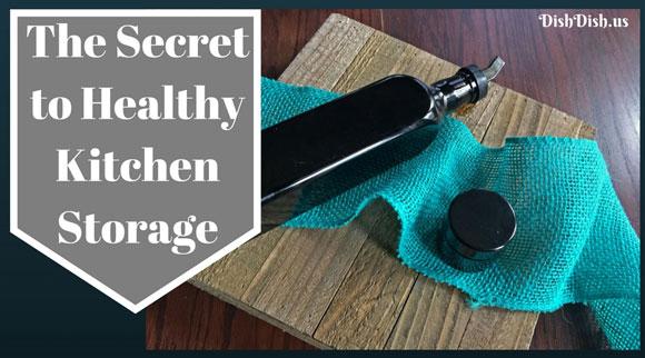 Secret to Healthy Kitchen Storage - Infinity Jars
