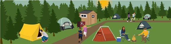 How to Set up Campsite for Camping
