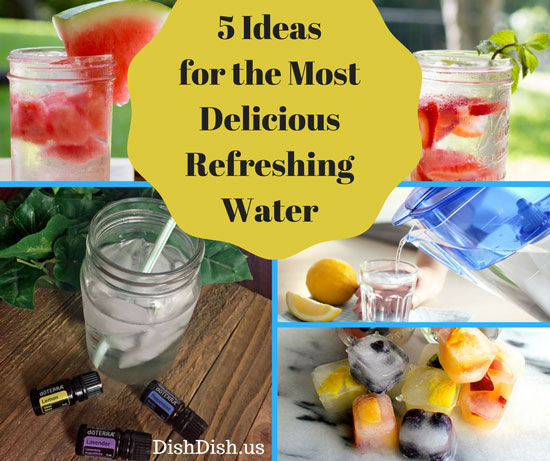 5 Ways to Improve Taste of Water
