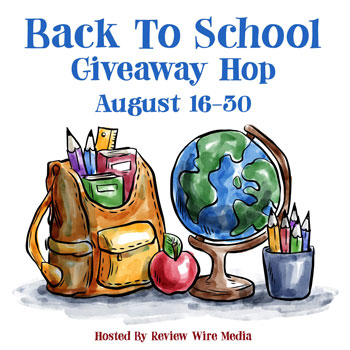 Back to School Giveaway Hop Review Wire Media