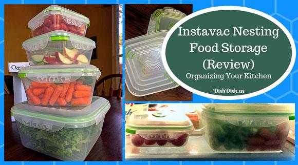 Ozeri Instavac Nesting Food Storage Containers Review