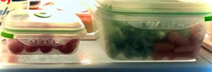 Ozeri food storage containers in fridge - review