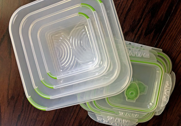 Ozeri stacked food storage containers review