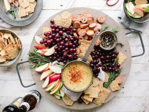 Fruit, Cheese and Crackers Tray - Unsplash