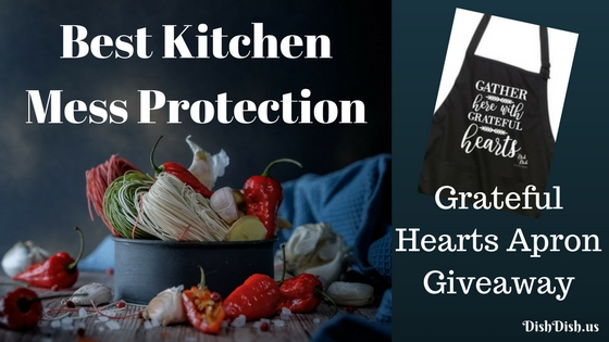 Kitchen Mess Protection - Apron Giveaway