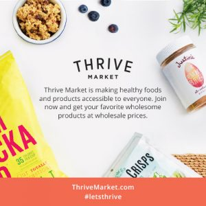 Healthy Ingredients from Thrive Market
