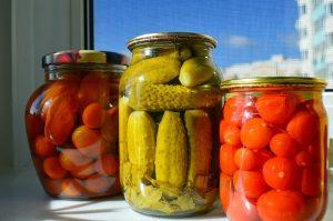 Canning Jars of Pickles - Pixabay