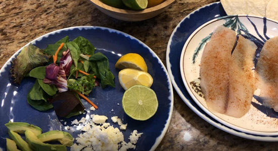 Tilapia Tacos Easy Dinner Recipe