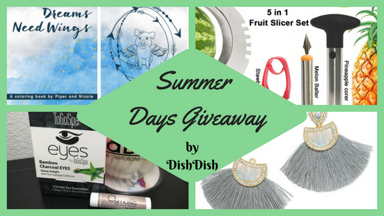 Summer Fun Days Giveaway | Dish Dish | Digital Recipe Box
