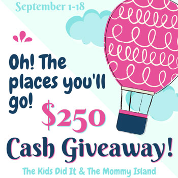 $250 cash giveaway - back to school