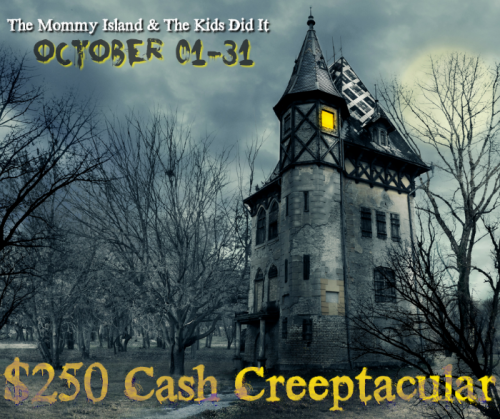 Creeptacular Cash Giveaway | DishDish