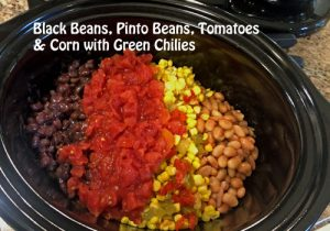 Crockpot Chicken Chili Recipe ingredients