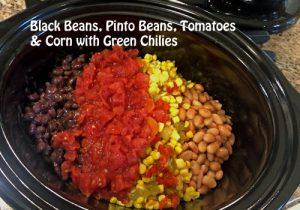 Crockpot Chicken Chili Recipe ingredients