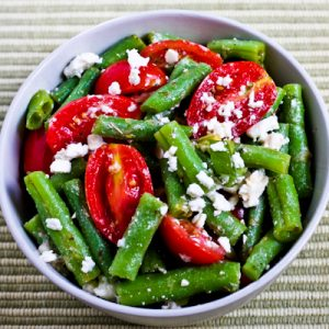 Green Beans, Grape Tomatoes and Feta - Flickr