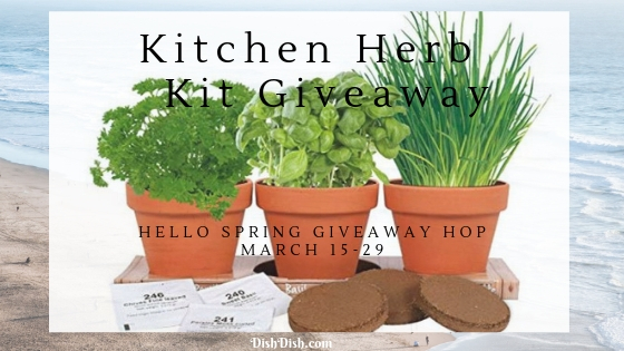 Hello Spring Giveaway - Kitchen Herb Grow Kit