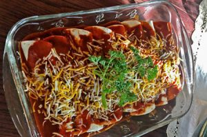 Recipes with Ground Beef | Beef Enchiladas Recipe