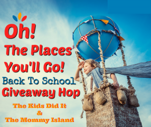 Oh the Places You'll Go Giveaway Hop 2019