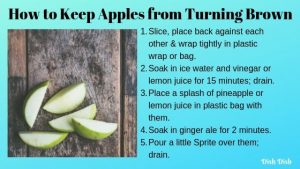 How to Keep Sliced Apples from Turning Brown