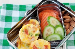 Momables - pizza mini quiche school lunch