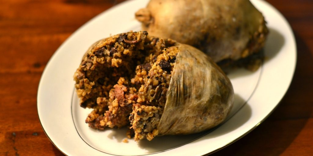 simple haggis